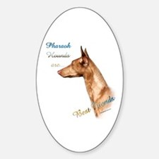 Pharaoh Best Friend 1 Oval Decal