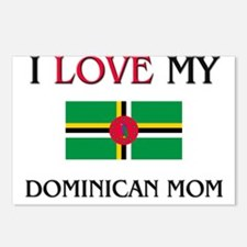 I Love My Dominican Mom Postcards (Package of 8)