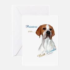 Pointer Best Friend 1 Greeting Card