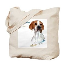 Pointer Best Friend 1 Tote Bag