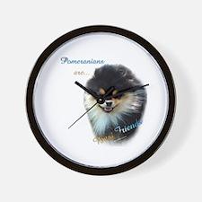 Pomeranian Best Friend 1 Wall Clock