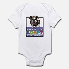 Adopt a Bulldog Infant Bodysuit