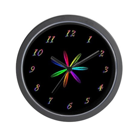 Rainbow spirograph clock by sure2smile - Spirograph clock ...