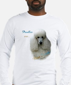 Poodle Best Friend 1 Long Sleeve T-Shirt