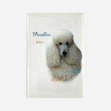 Poodle Best Friend 1 Rectangle Magnet