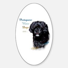 PWD Best Friend 1 Oval Decal