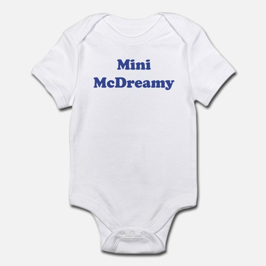 Mini McDreamy Infant Bodysuit