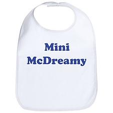 Mini McDreamy Bib