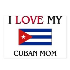 I Love My Cuban Mom Postcards (Package of 8)