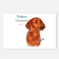 Coonhound Best Friend 1 Postcards (Package of 8)