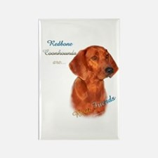 Coonhound Best Friend 1 Rectangle Magnet (10 pack)