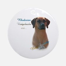 Ridgeback Best Friend 1 Ornament (Round)