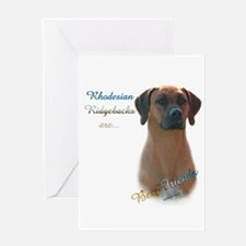 Ridgeback Best Friend 1 Greeting Card