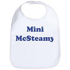 Mini McSteamy Bib