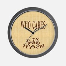 Who Cares Clock (2)