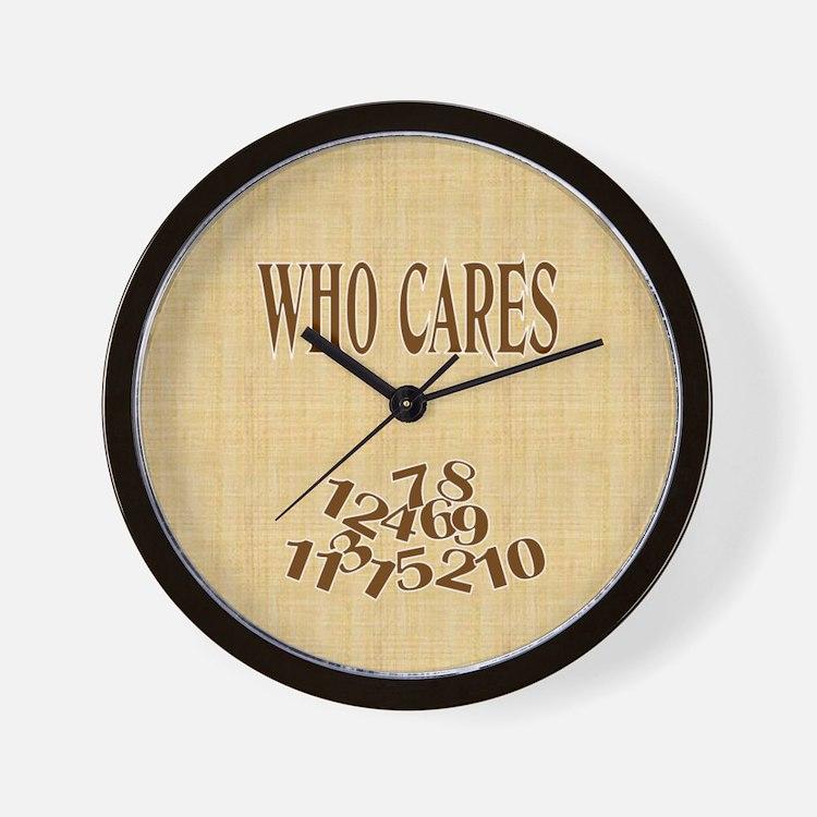 Who Cares Clock (2)