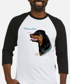 Rottweiler Best Friend 1 Baseball Jersey