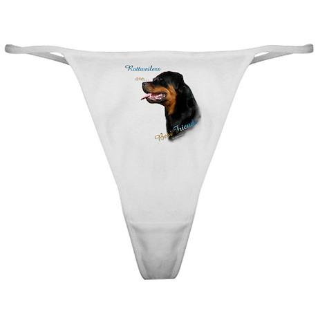 Rottweiler Best Friend 1 Classic Thong