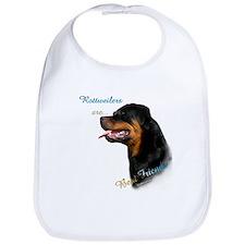 Rottweiler Best Friend 1 Bib