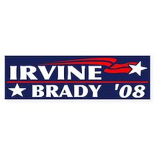 Irvine-Brady Bumper Bumper Bumper Sticker
