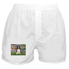 Monet's Lilies & Springer Boxer Shorts