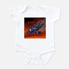 F-117 NightHawk Stealth Fight Infant Bodysuit