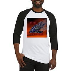 F-117 NightHawk Stealth Fight Baseball Jersey