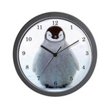 Baby penguins Wall Clocks