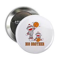 "Basketball Monkey Big Brother 2.25"" Button"
