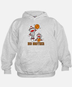 Basketball Monkey Big Brother Hoodie