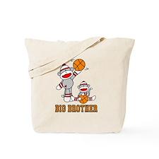Basketball Monkey Big Brother Tote Bag