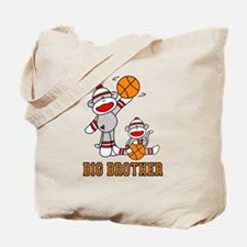 Basketball Monkey Big Brother Tote Bag