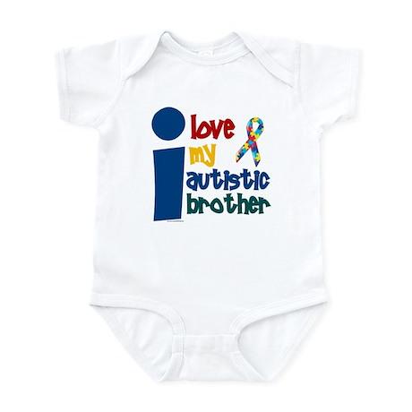 I Love My Autistic Brother 1 Infant Bodysuit