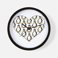 Tux Heart! Wall Clock