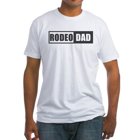Rodeo Dad Fitted T-Shirt