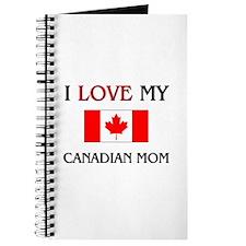 I Love My Canadian Mom Journal