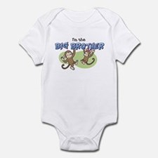 Big Brother - Monkey Infant Bodysuit