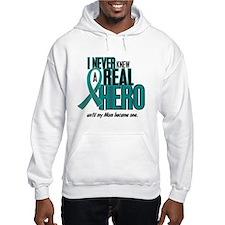Never Knew A Hero 2 Teal (Mom) Hoodie