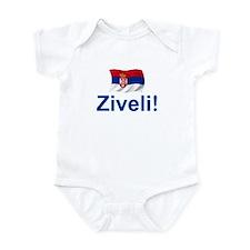 Serbia Ziveli Onesie
