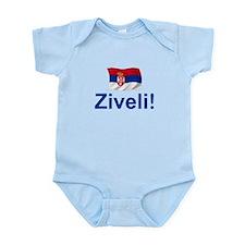 Serbia Ziveli Infant Bodysuit