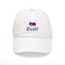 Serbia Ziveli Baseball Cap