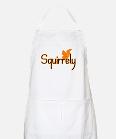 Squirrely BBQ Apron