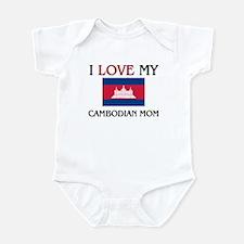 I Love My Cambodian Mom Infant Bodysuit
