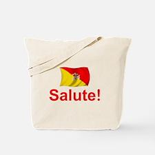 Sicily Salute Tote Bag
