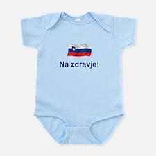 Slovenia Na zdravje Infant Bodysuit