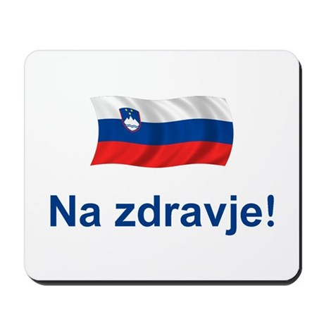 Slovenia Na zdravje Mousepad