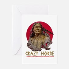 Crazy Horse Greeting Cards (Pk of 10)