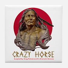 Crazy Horse Tile Coaster