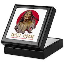 Crazy Horse Keepsake Box