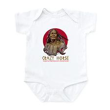 Crazy Horse Infant Bodysuit